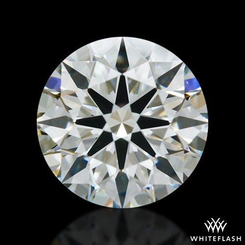 0.704 ct J VS1 A CUT ABOVE® Hearts and Arrows Super Ideal Round Cut Loose Diamond
