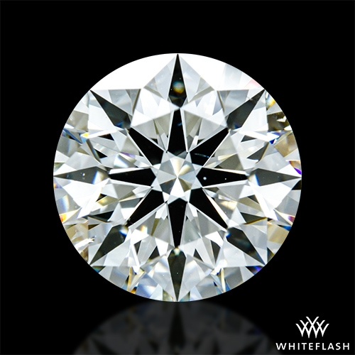 2.241 ct J SI1 A CUT ABOVE® Hearts and Arrows Super Ideal Round Cut Loose Diamond