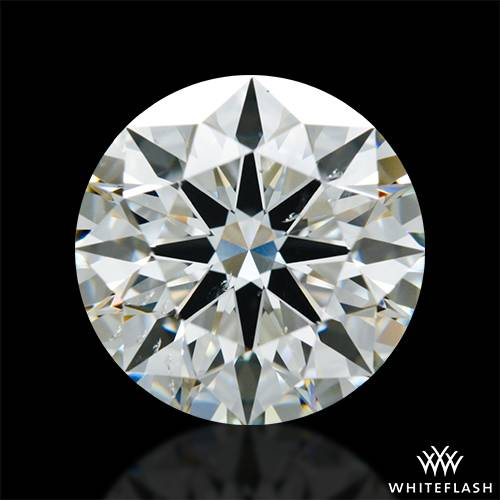 2.22 ct I SI1 A CUT ABOVE® Hearts and Arrows Super Ideal Round Cut Loose Diamond