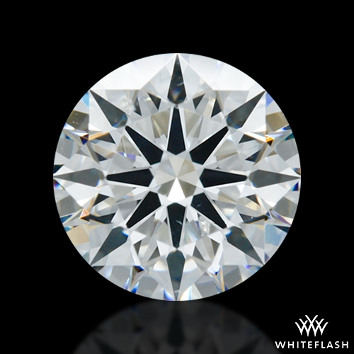 1.015 ct F SI1 A CUT ABOVE® Hearts and Arrows Super Ideal Round Cut Loose Diamond