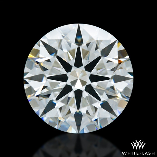 1.305 ct J VS1 A CUT ABOVE® Hearts and Arrows Super Ideal Round Cut Loose Diamond