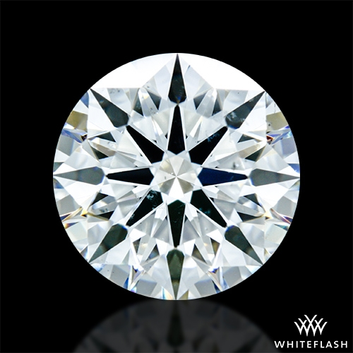 2.146 ct H SI1 A CUT ABOVE® Hearts and Arrows Super Ideal Round Cut Loose Diamond