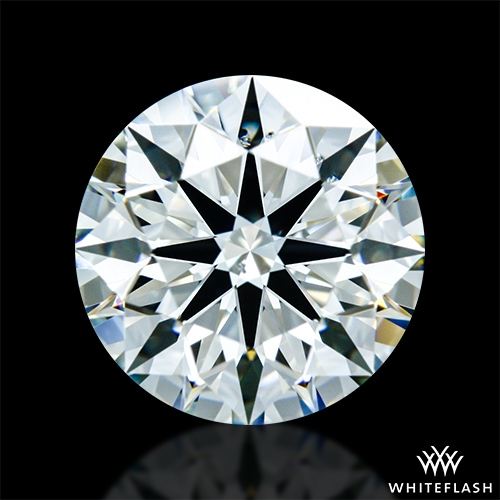 1.546 ct K SI1 A CUT ABOVE® Hearts and Arrows Super Ideal Round Cut Loose Diamond