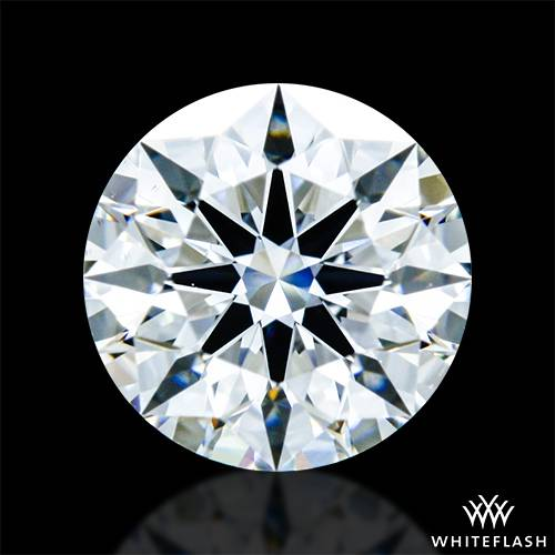 0.343 ct J VS2 A CUT ABOVE® Hearts and Arrows Super Ideal Round Cut Loose Diamond