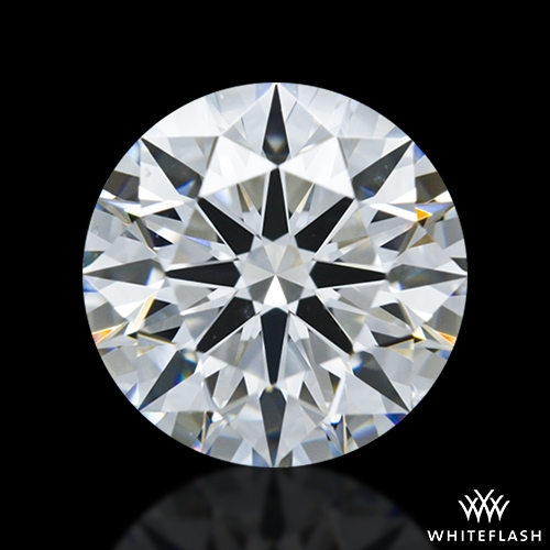 1.28 ct F VS2 A CUT ABOVE® Hearts and Arrows Super Ideal Round Cut Loose Diamond