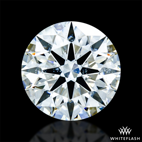 1.401 ct I SI2 A CUT ABOVE® Hearts and Arrows Super Ideal Round Cut Loose Diamond