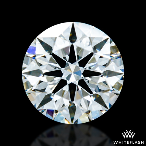 0.531 ct F VS1 A CUT ABOVE® Hearts and Arrows Super Ideal Round Cut Loose Diamond