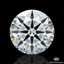 1.213 ct I SI1 A CUT ABOVE® Hearts and Arrows Super Ideal Round Cut Loose Diamond