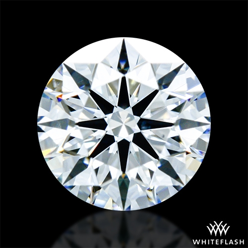 0.707 ct E VS2 A CUT ABOVE® Hearts and Arrows Super Ideal Round Cut Loose Diamond