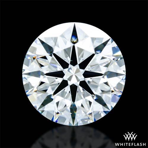 0.721 ct E VS2 A CUT ABOVE® Hearts and Arrows Super Ideal Round Cut Loose Diamond
