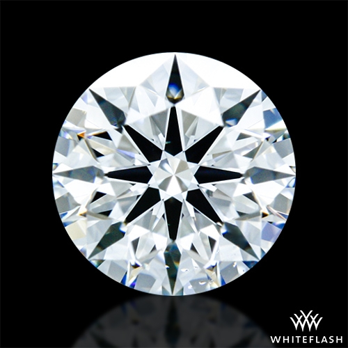 0.721 ct E VS2 A CUT ABOVE® Hearts and Arrows Super Ideal Round Cut Loose Diamond