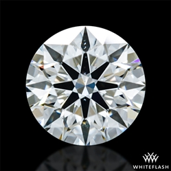 0.616 ct G VS2 A CUT ABOVE® Hearts and Arrows Super Ideal Round Cut Loose Diamond