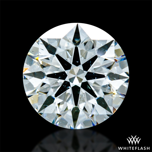 1.298 ct G SI1 A CUT ABOVE® Hearts and Arrows Super Ideal Round Cut Loose Diamond