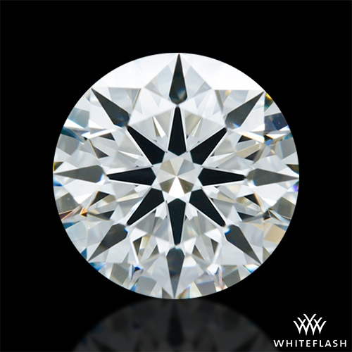 1.28 ct J VS2 A CUT ABOVE® Hearts and Arrows Super Ideal Round Cut Loose Diamond