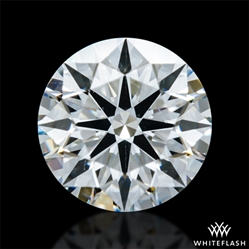 0.54 ct F VS2 A CUT ABOVE® Hearts and Arrows Super Ideal Round Cut Loose Diamond
