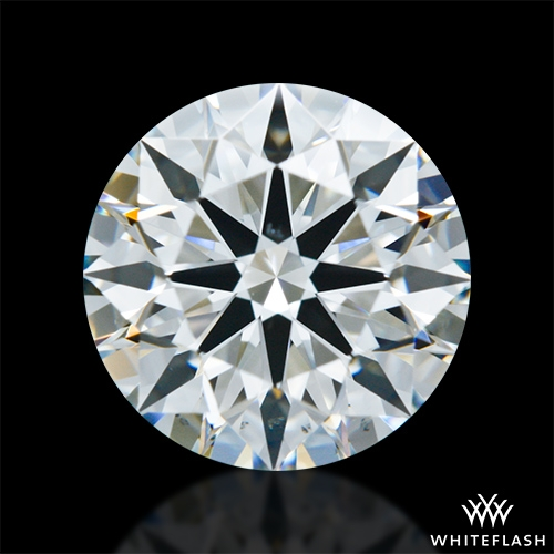 1.59 ct H VS2 A CUT ABOVE® Hearts and Arrows Super Ideal Round Cut Loose Diamond
