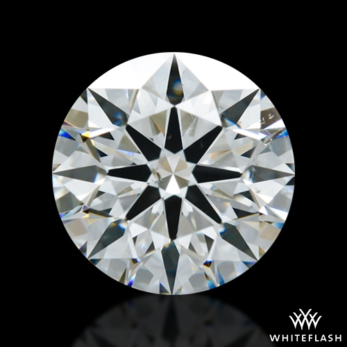 1.327 ct G SI1 A CUT ABOVE® Hearts and Arrows Super Ideal Round Cut Loose Diamond