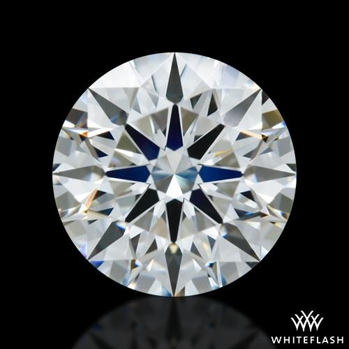 0.843 ct E VS1 A CUT ABOVE® Hearts and Arrows Super Ideal Round Cut Loose Diamond