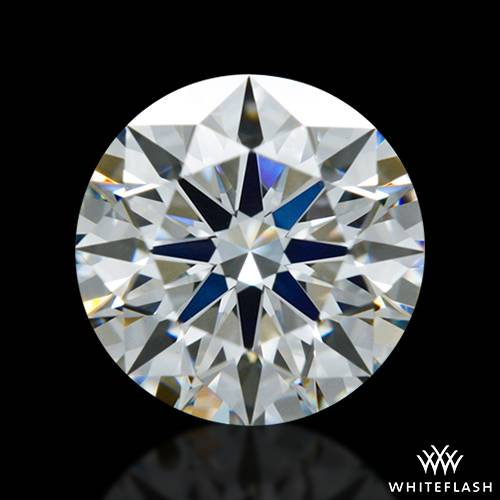 0.803 ct F VS1 A CUT ABOVE® Hearts and Arrows Super Ideal Round Cut Loose Diamond