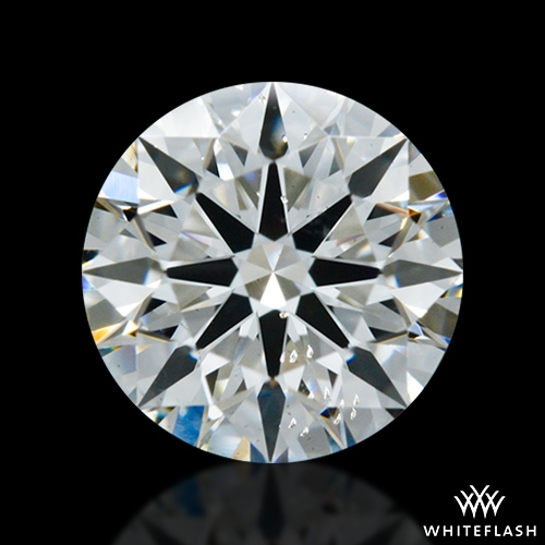 0.705 ct G SI1 A CUT ABOVE® Hearts and Arrows Super Ideal Round Cut Loose Diamond