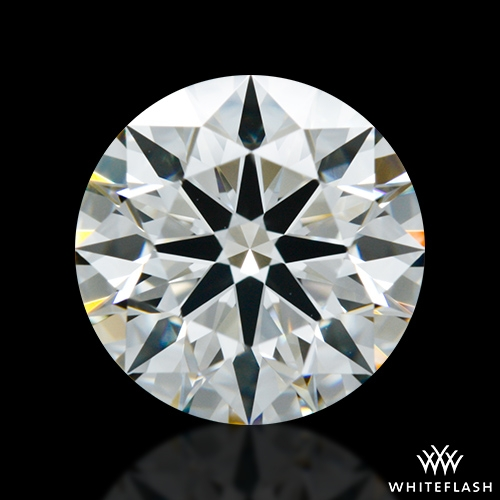 1.588 ct H VS1 A CUT ABOVE® Hearts and Arrows Super Ideal Round Cut Loose Diamond