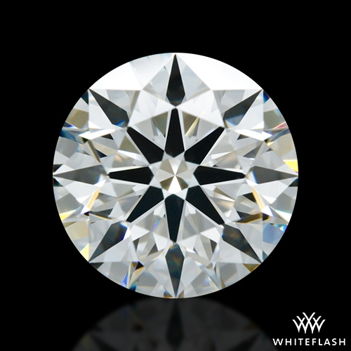 1.128 ct E VS1 A CUT ABOVE® Hearts and Arrows Super Ideal Round Cut Loose Diamond