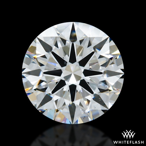 1.23 ct E VS1 A CUT ABOVE® Hearts and Arrows Super Ideal Round Cut Loose Diamond