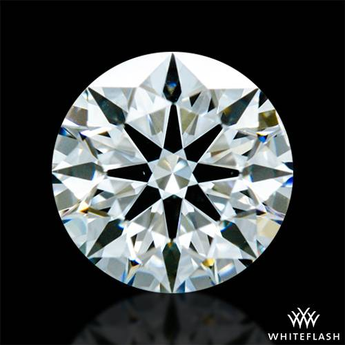 0.512 ct H SI1 A CUT ABOVE® Hearts and Arrows Super Ideal Round Cut Loose Diamond