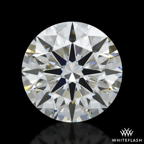 0.858 ct I VS2 A CUT ABOVE® Hearts and Arrows Super Ideal Round Cut Loose Diamond