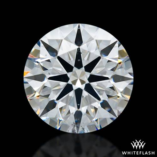 1.31 ct D SI1 A CUT ABOVE® Hearts and Arrows Super Ideal Round Cut Loose Diamond