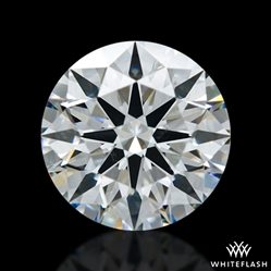 1.642 ct G SI1 A CUT ABOVE® Hearts and Arrows Super Ideal Round Cut Loose Diamond