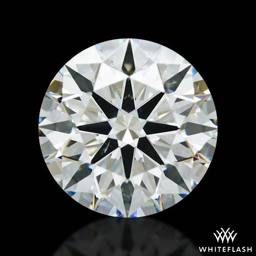 2.652 ct J SI1 A CUT ABOVE® Hearts and Arrows Super Ideal Round Cut Loose Diamond