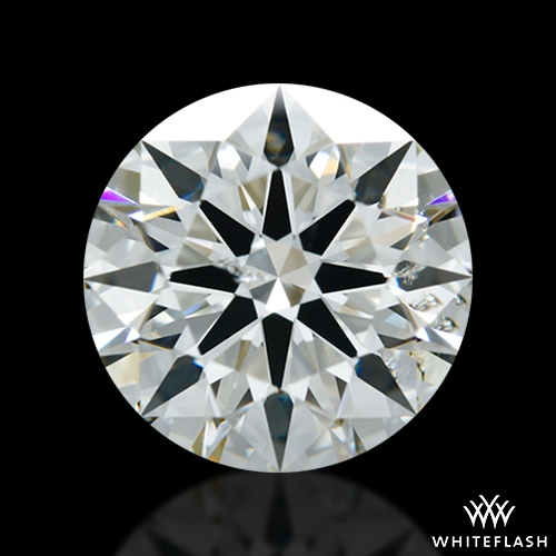 1.212 ct I SI2 A CUT ABOVE® Hearts and Arrows Super Ideal Round Cut Loose Diamond