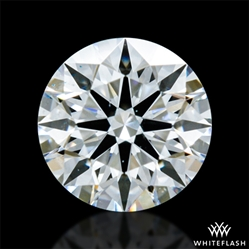 0.317 ct F VS2 A CUT ABOVE® Hearts and Arrows Super Ideal Round Cut Loose Diamond