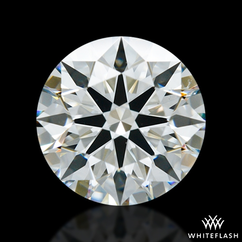 1.647 ct H VS2 A CUT ABOVE® Hearts and Arrows Super Ideal Round Cut Loose Diamond