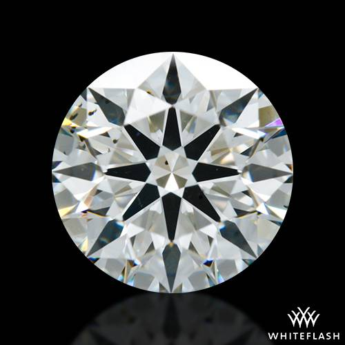 1.254 ct H VS2 A CUT ABOVE® Hearts and Arrows Super Ideal Round Cut Loose Diamond