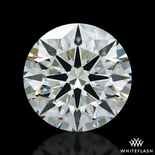 2.50 ct I VS2 A CUT ABOVE® Hearts and Arrows Super Ideal Round Cut Loose Diamond