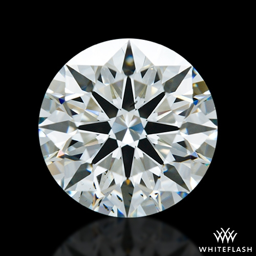 2.037 ct J SI1 A CUT ABOVE® Hearts and Arrows Super Ideal Round Cut Loose Diamond