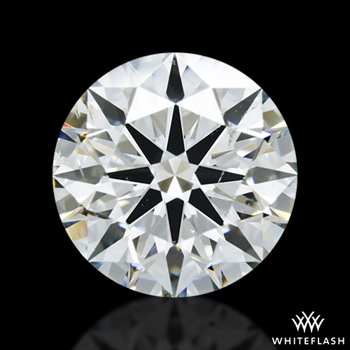 3.51 ct J SI1 A CUT ABOVE® Hearts and Arrows Super Ideal Round Cut Loose Diamond