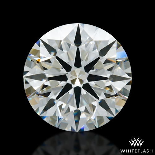 1.116 ct I SI1 A CUT ABOVE® Hearts and Arrows Super Ideal Round Cut Loose Diamond