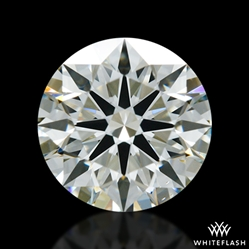 1.04 ct K VS1 A CUT ABOVE® Hearts and Arrows Super Ideal Round Cut Loose Diamond
