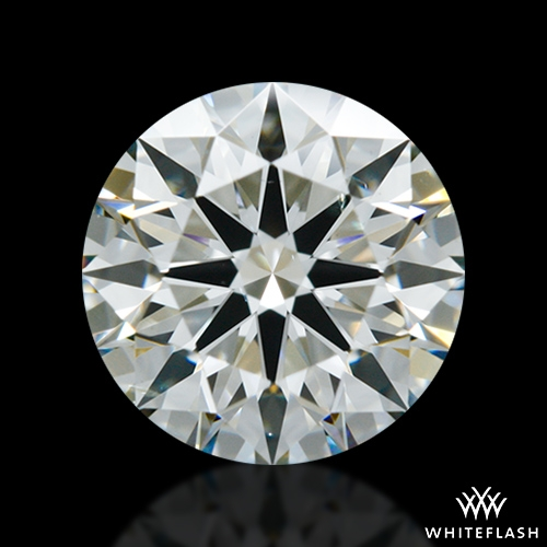 1.117 ct J VS2 A CUT ABOVE® Hearts and Arrows Super Ideal Round Cut Loose Diamond