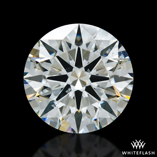1.966 ct I SI1 A CUT ABOVE® Hearts and Arrows Super Ideal Round Cut Loose Diamond
