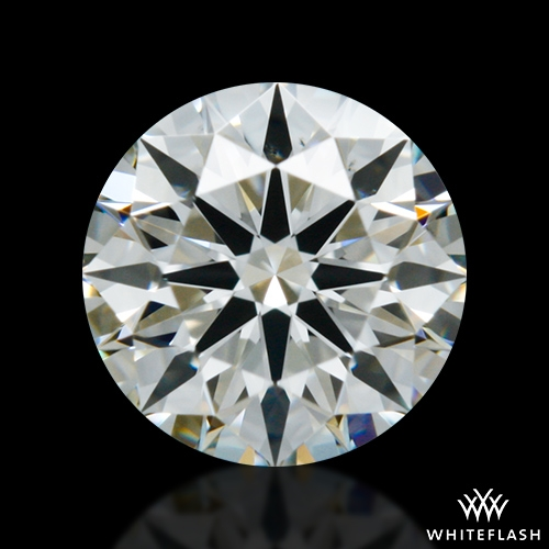 0.427 ct I VS2 A CUT ABOVE® Hearts and Arrows Super Ideal Round Cut Loose Diamond