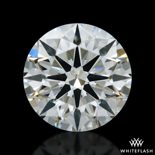 0.408 ct G SI1 A CUT ABOVE® Hearts and Arrows Super Ideal Round Cut Loose Diamond