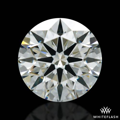 0.408 ct J VS2 A CUT ABOVE® Hearts and Arrows Super Ideal Round Cut Loose Diamond