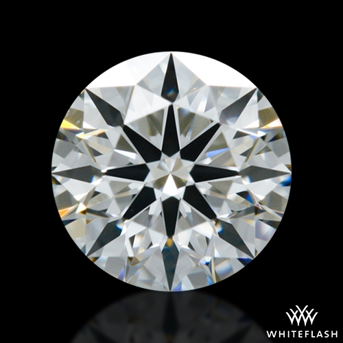 0.44 ct F VS2 A CUT ABOVE® Hearts and Arrows Super Ideal Round Cut Loose Diamond