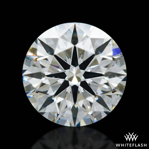 0.414 ct G SI1 A CUT ABOVE® Hearts and Arrows Super Ideal Round Cut Loose Diamond