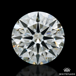0.408 ct I SI1 A CUT ABOVE® Hearts and Arrows Super Ideal Round Cut Loose Diamond
