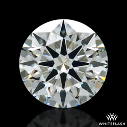 0.408 ct H VS2 A CUT ABOVE® Hearts and Arrows Super Ideal Round Cut Loose Diamond